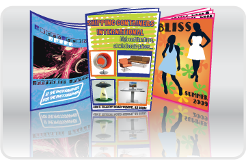 <p>Large and small booklets.</p>