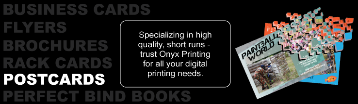 Onyx Printing - Full color post cards