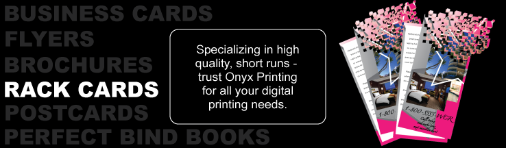 Onyx Printing - Full color rack cards