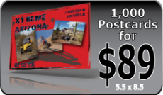 Discount - 1000 full color postcards for $89